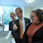 LEGO Group board members visit the Oyenlab